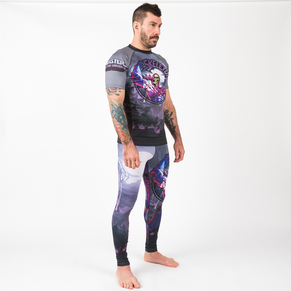 full outfit Fusion FG Master of the Universe Skeletor Short Sleeve Rashguard.  Enjoy free Shipping from www.thejiujitsushop.com  Fast Free Shipping from The Jiu Jitsu Shop today!