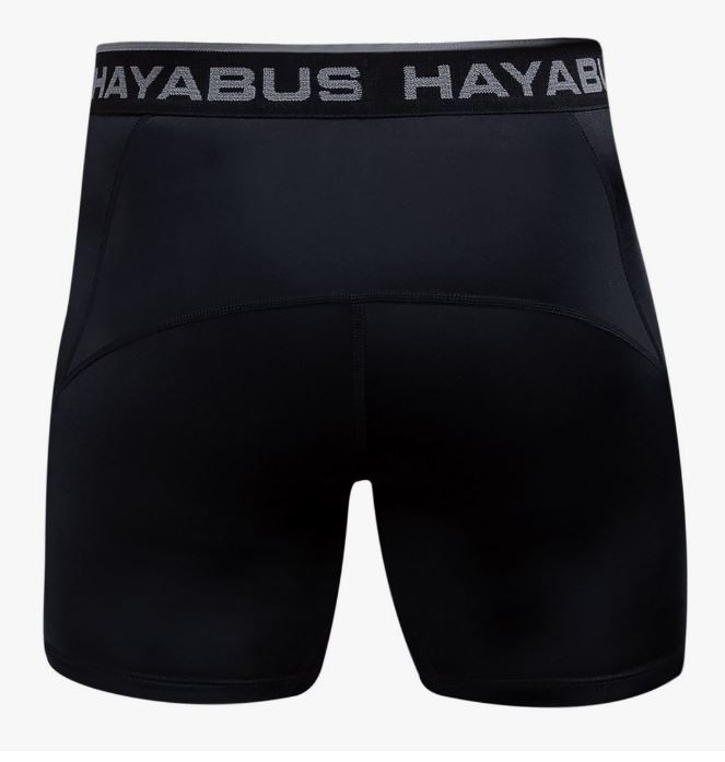 Back of the Hayabusa Haburi Compression Shorts now available at www.thejiujitsushop.com  Enjoy free shipping from The Jiu Jitsu Shop today!
