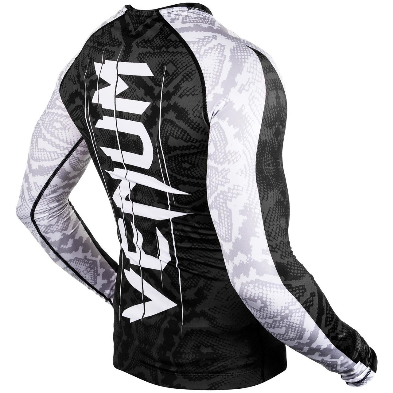 Venum Amazonia 5 Rashguard Longsleeve (Black) available at www.thejiujitsushop.com  Enjoy Free Shipping from The Jiu Jitsu Shop today!