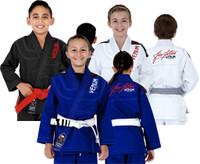 Venum challenger 2.0 kids gis @ www.thejiujitsushop.com Color available Black, Blue, White Jiu Jitsu Gis