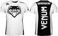 Venum Shogun Team T-shirt White/Black now at www.thejiujitsushop.com   Enjoy Free Shipping from The Jiu Jitsu Shop.