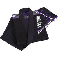 Venum Elite BJJ Gi Black and Purple @ www.thejiujitsushop.com