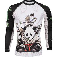 Tatami gentle Panda Rashguard at www.thejiujitsushop.com  Enjoy Free Shipping from The Jiu Jitsu Shop