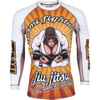Tatami Zen Gorilla Long Sleeve Rashguard @ The Jiu Jitsu Shop.  Be at one with the mats.  zeeeennnnnnnnn