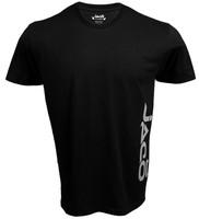 Jaco Logo Crew Black T-Shirt available at www.thejiujitsushop.com   Enjoy Free Shipping from The Jiu Jitsu Shop Today!