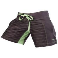 Clinch Gear Womens Spectrum Hazard Short- Grey now available at www.thejiujitsushop.com  Enjoy Free Shipping at The Jiu Jitsu Shop.  Stylish comfortable shorts for women.