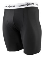 Clinch Gear Compression Brief Shorts in Black available at www.thejiujitsushop.com  Enjoy Free Shipping from The Jiu Jitsu Shop