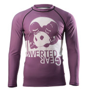 Inverted Gear Purple Long Sleeve Ranked Rashguard @ www.thejiujitsushop.com - Top BJJ gear for an evolving Jiu Jitsu Community