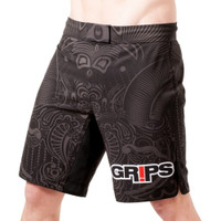 Grips Athletics Warriors Instinct Men's Fight Shorts @ The Jiu Jitsu Shop.  Large Selection of Grips gear at www.thejiujitsushop.com  Free Shipping on all orders