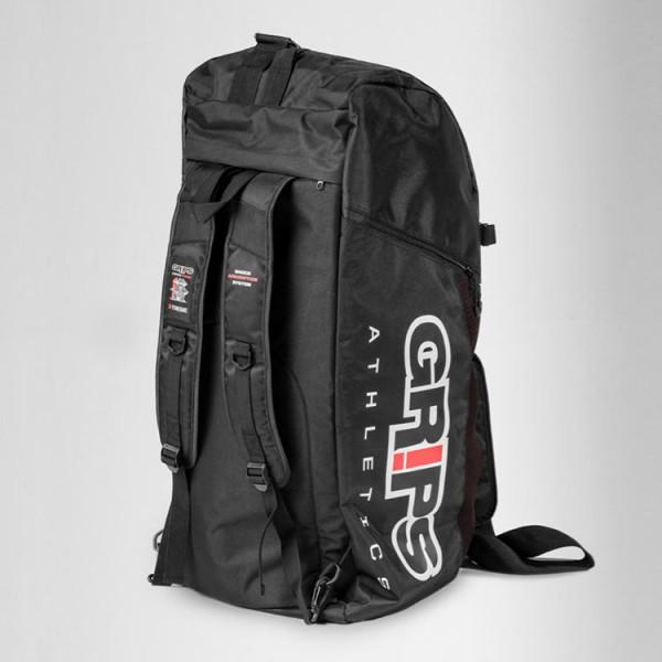 Grips athletics duffle backpack black the jiu jitsu shop jpg 600x600  Ultimate mma duffle bags ed42d7ab8b