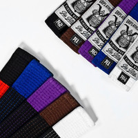 Grips Athletics Jiu Jitsu Belts @ www.thejiujitsushop.com.  Super soft and durable belt that you will love and be proud of.