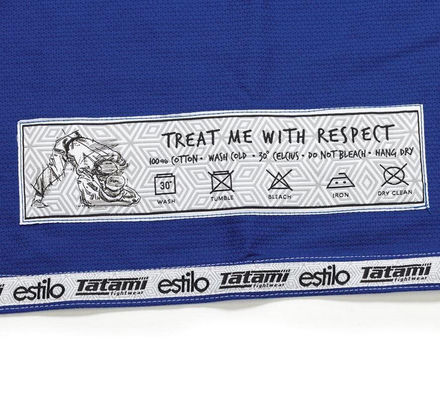 blue Tatami Estilo 5.0 Ladies BJJ Gi @ www.thejiujitsushop.com