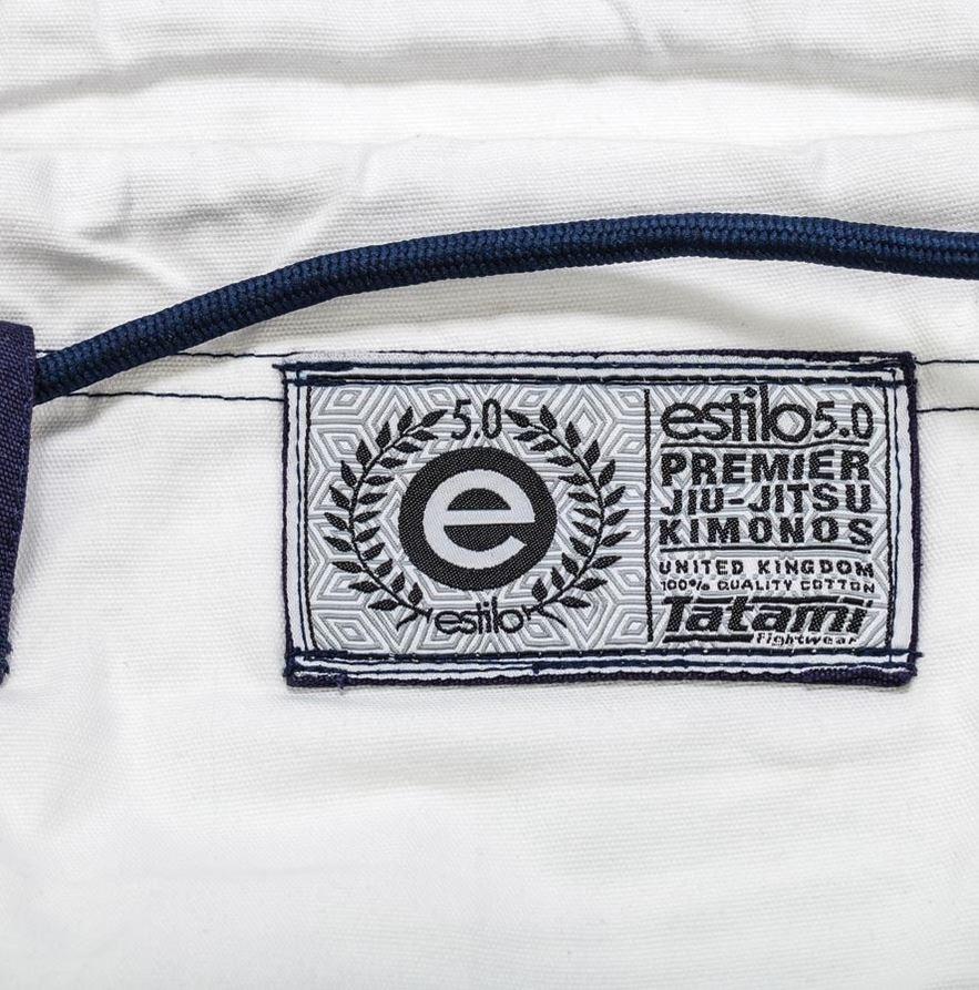White Tatami Estilo 5.0 Ladies BJJ Gi @ www.thejiujitsushop.com