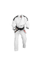 2015 Gameness White Pearl Gi @ The Jiu Jitsu Shop.  http://www.thejiujitsushop.com   Comfort and durable white gameness gi
