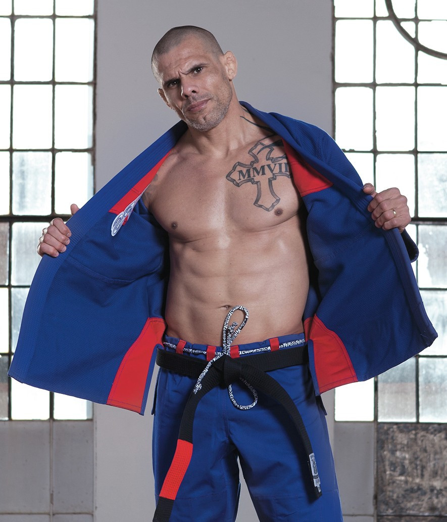 Grips Primero 3.0 Blue gi front of Gi at www.thejiujitsushop.com The Jiu Jitsu Shop for all your jiu jitsu needs.