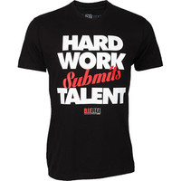 BJJ Life Hard Work Submits Talent at www.thejiujitsushop.com.  Represent the work ethic that is takes in the sport of BJJ.   Enjoy Free Shipping on everything at The Jiu Jitsu Shop!