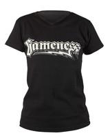 Gameness Female T-Shirt Logo in Black available at www.thejiujitsushop.com   Enjoy Free Shipping from The Jiu Jitsu Shop