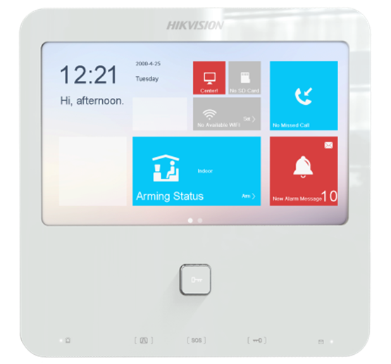 Ip Video Intercom Door Entry Monitor Hikvision Ds Kh6300 Hd Live