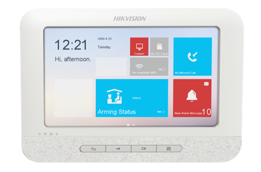 Ip Video Intercom Door Entry Monitor Hikvision Ds Kh6310 W Hd Live