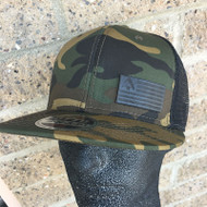 Black Flag Camo Hat