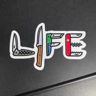 Full Color Life Sticker