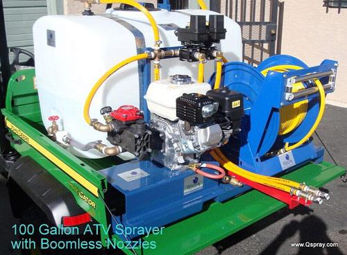 ATV Sprayers — Buy Quality Weed & Pest Control at QSpray.com