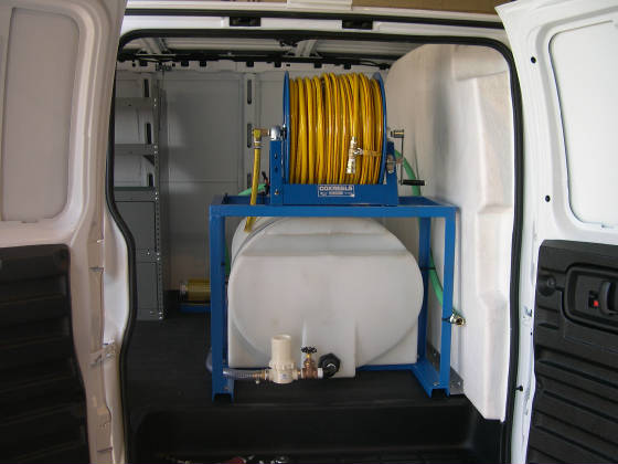 Van Mount Skid Sprayer