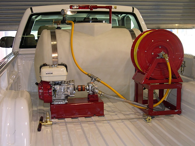 125 Truck Mount Sprayer - Pest