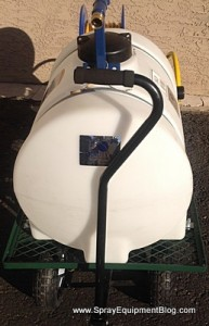 35 Gallon 12 Volt Electric Cart Sprayer Pest Control