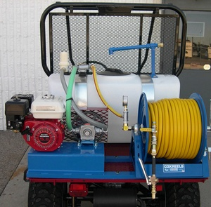 50 Gallon Mule  Weed Sprayer - Roller Pump