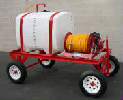 200 Gallon Landscape weed spray Cart - Extra Heavy Duty