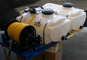 Dual 25 Skid Mount Sprayer