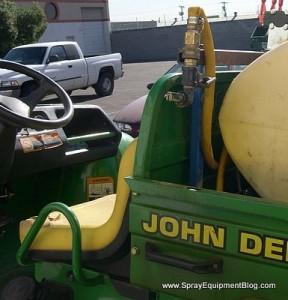 weed sprayer design problem