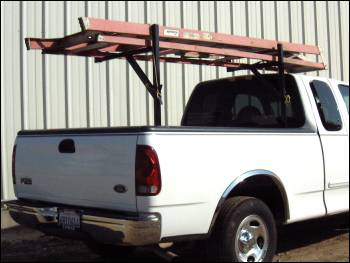 pest control ladder rack