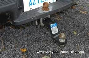 pest control trailer Hitch