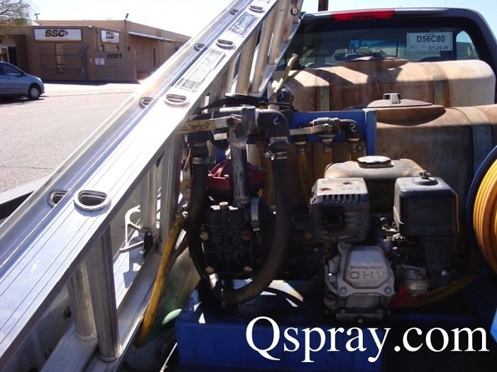 unsecured-ladder-pest-control-truck