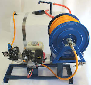 diaphragm pump skid mount qspray