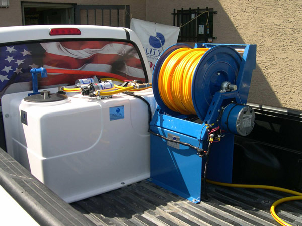 Electric Hose Reel for Pest/ Weed Control