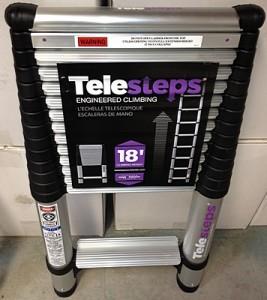 telesteps 1800ep telescoping ladder