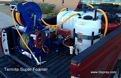 termite sprayer super foamer 2012