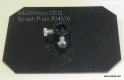 B & G 34570 QCG Splash Plate Welded 22067801