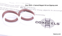 "Cox 1935-1 3/8"" Hose Reel Swivel Repair Kit"