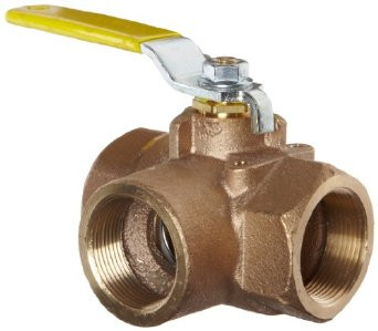 Apollo 3-Way Brass Ball Valve
