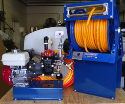 200 Gallon Component Mount Power Spray Rig with Diaphragm Pump