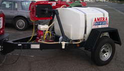 200 Gallon Trailer Sprayer