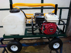 Gas Powered Cart Sprayer