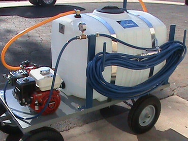 100 Gallon Nursery Cart Sprayer