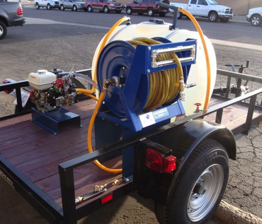 225 Gallon Single Axle Trailer Sprayer