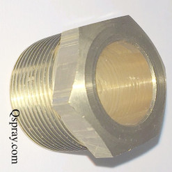 Oberdorfer 1762 Brass Packing nut for gear pump