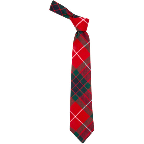 fraser red modern tartan tie burnett s struth scottish regalia